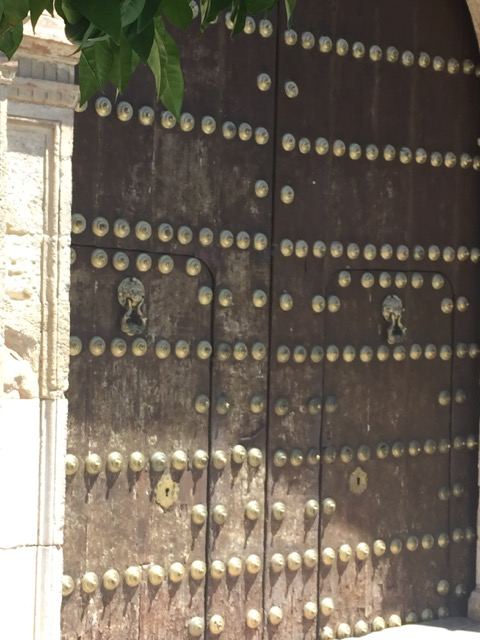bruine-deur