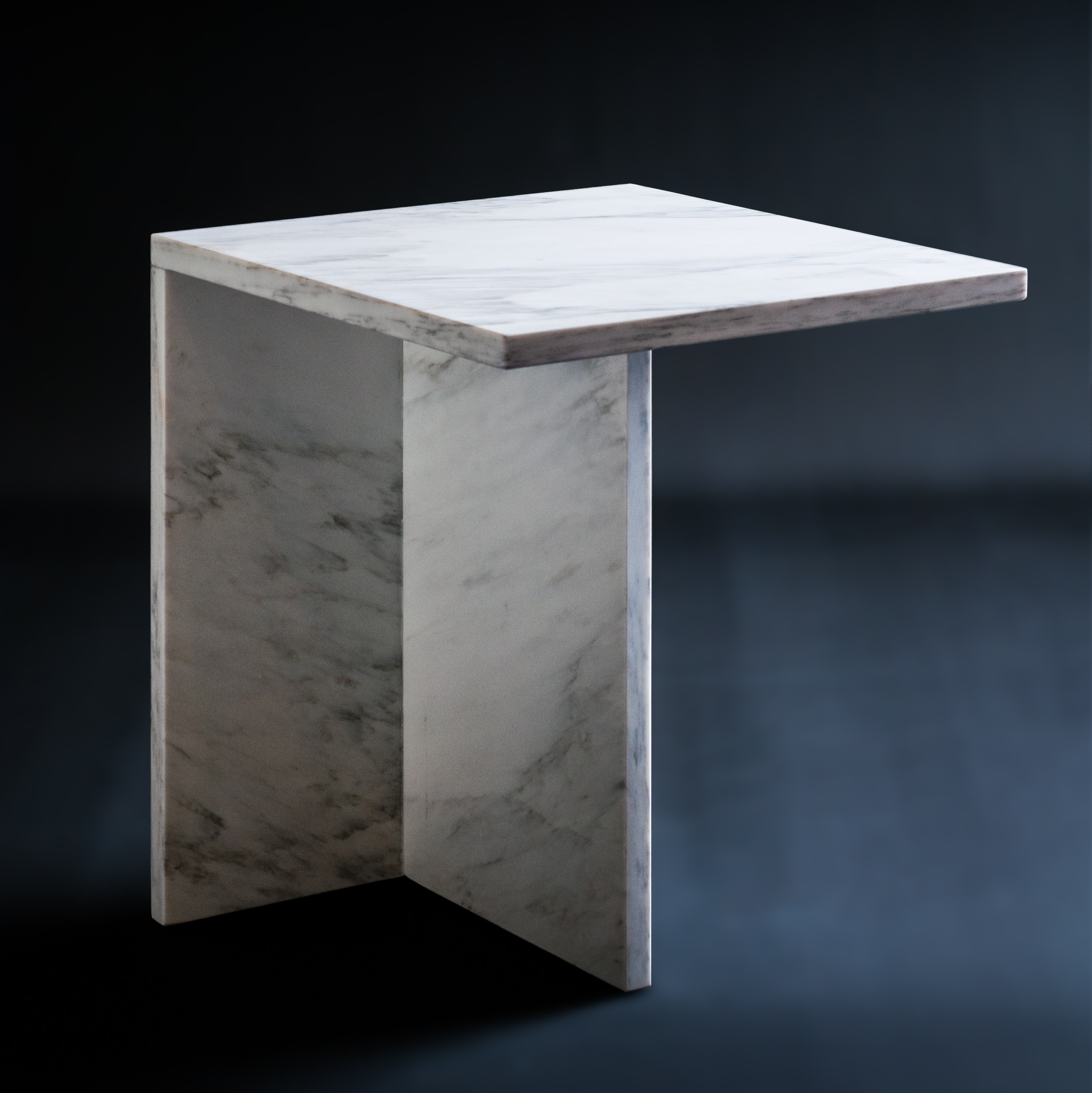 Sidetable van Statuario marmer